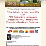 7250 Landscaping Ideas – $56.77 Per Sale + Backend