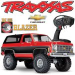 NEW Traxxas TRX-4 Chevy K5 Blazer RED 4WD RTR RC Rock Crawler Scale Trail Truck