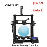 Newest Creality Ender 3 3D Printer 220X220X250mm DC 24V Mid-year Promotion $180