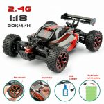 Rechargeable 1/18 Offroad RC Car Racing Truggy Fast Speed 2.4G Radio Control RTR