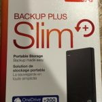 Seagate Backup Plus Slim (2tb hard drive)
