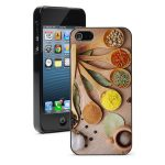 For iPhone X XS Max XR 5 6 7 8 Plus Hard Case 169 Spices Seasoning Cooking Chef