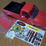 RC4WD 1/10 Marlin Crawler Trail Finder 2 Red Mojave II Body Set TF2 Yota Rollbar