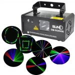 SUNY RGB 400mW Laser Beam Scans Light DMX Dance DJ Party Disco Lighting w