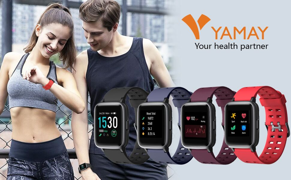 yamay smart watch fitness watch fitness tracker
