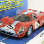Scalextric C3946 Ferrari 412P Brands Hatch 1967, #9 1/32 Slot Car