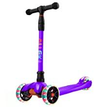 allek B02 purple kick scooter