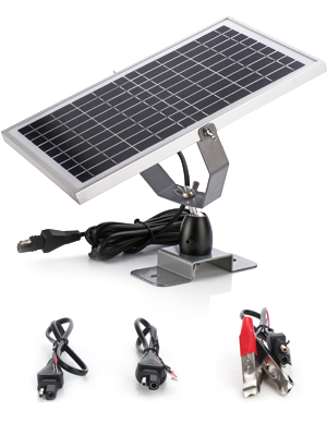 5w solar battery charger with MPPT