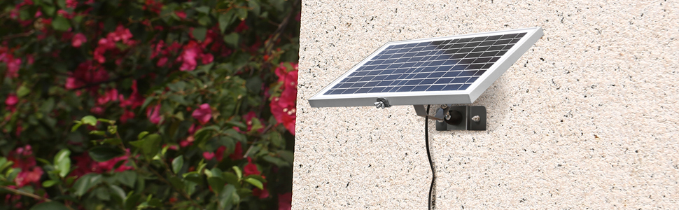 10w solar battery charger with charge controller