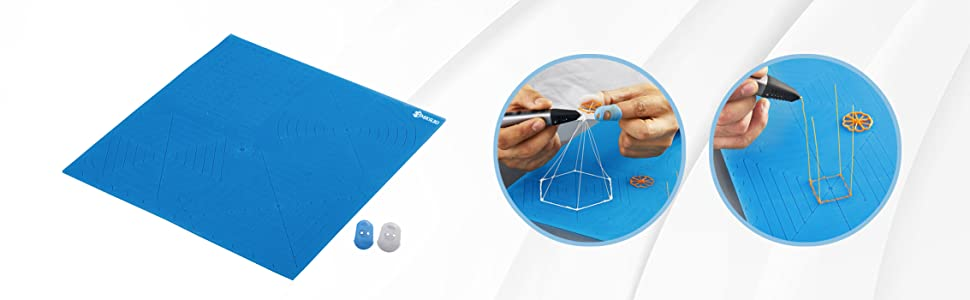 mika3d 3d printing pen drawing mat template x large silicone mat