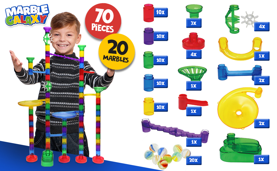 Whizbuiders Marble Run Parts