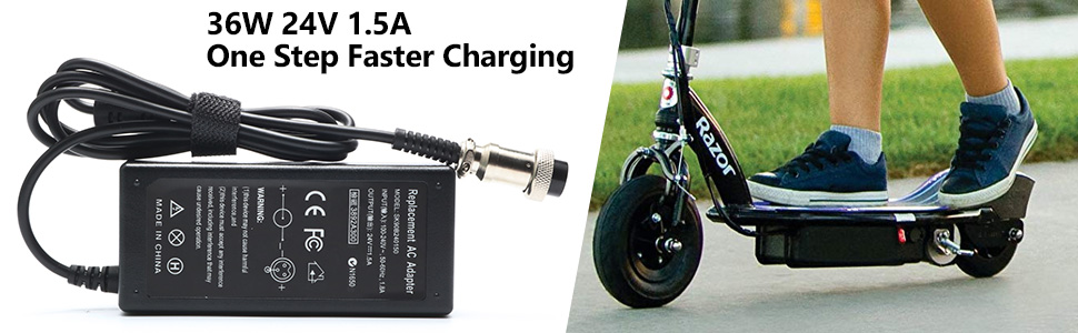 Fast charging for razor