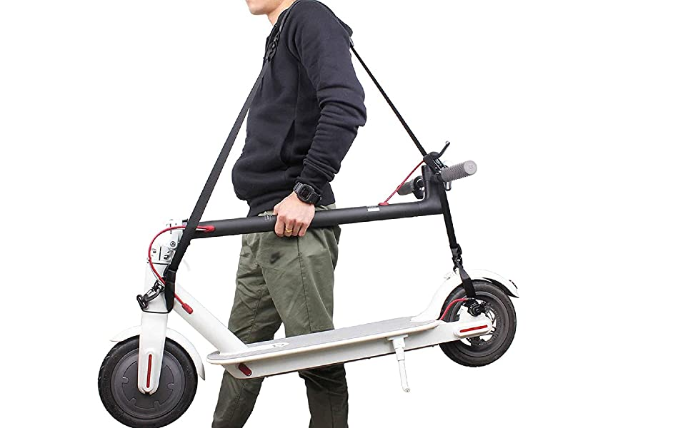 Strap for carrying scooter